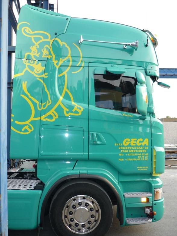 transport voor de landbouw geca